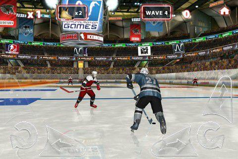 冰上曲棍球游戏截图2