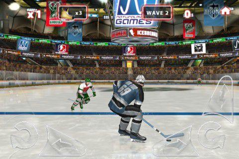 冰上曲棍球游戏截图3