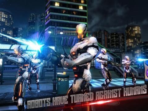 机器人的战斗英雄游戏截图1