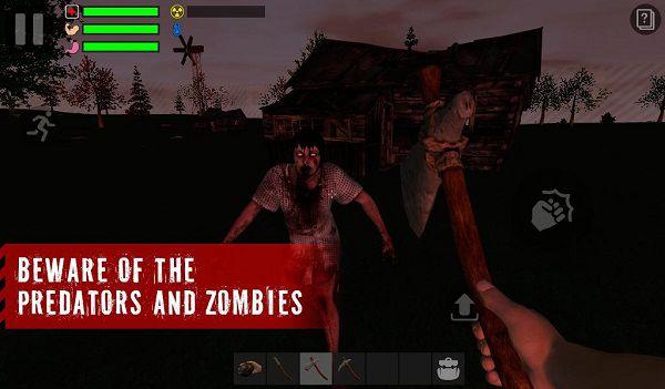 幸存者:遗忘的森林游戏截图1
