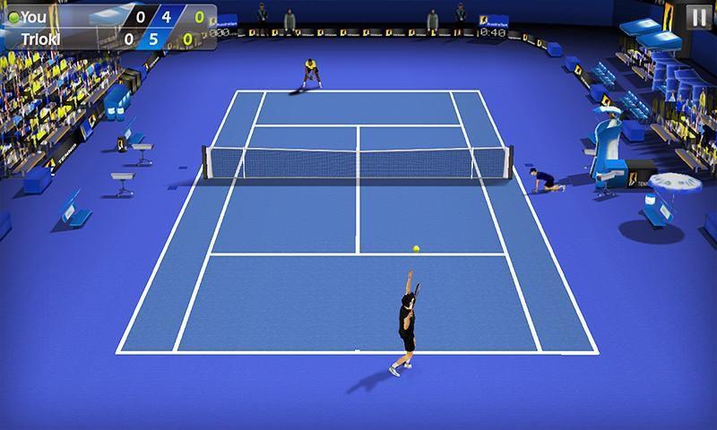 3D网球游戏截图2