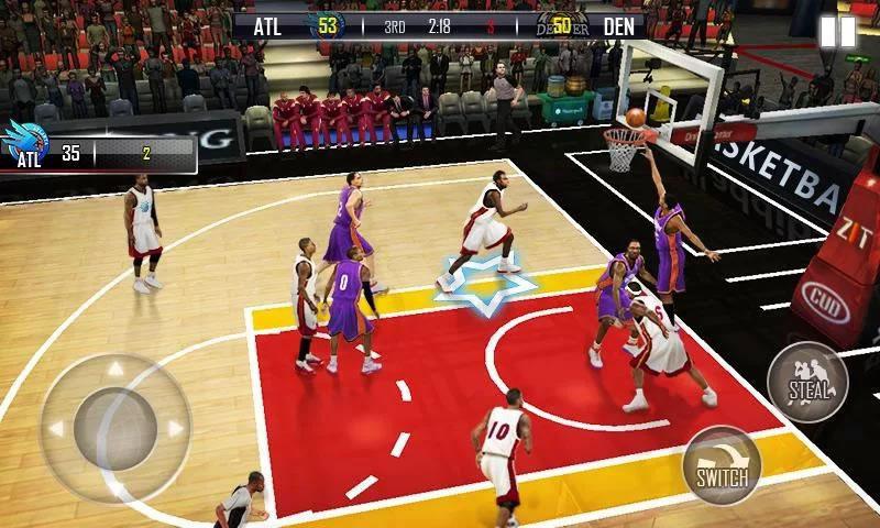 热血篮球3D游戏截图2