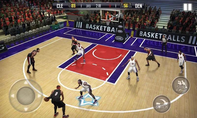 热血篮球3D游戏截图3