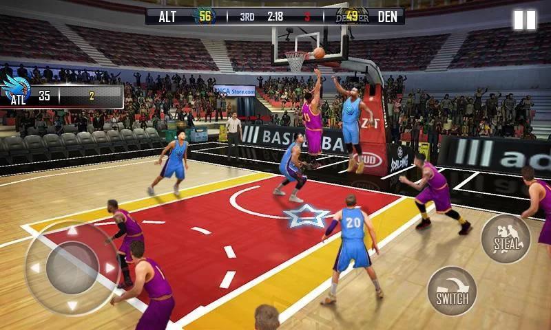 热血篮球3D游戏截图1