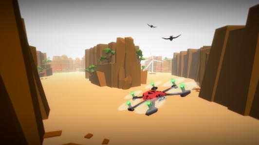 无人机竞 速游戏截图3