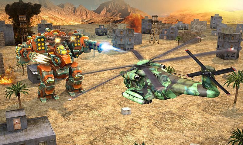 直升机大战外星人游戏截图2