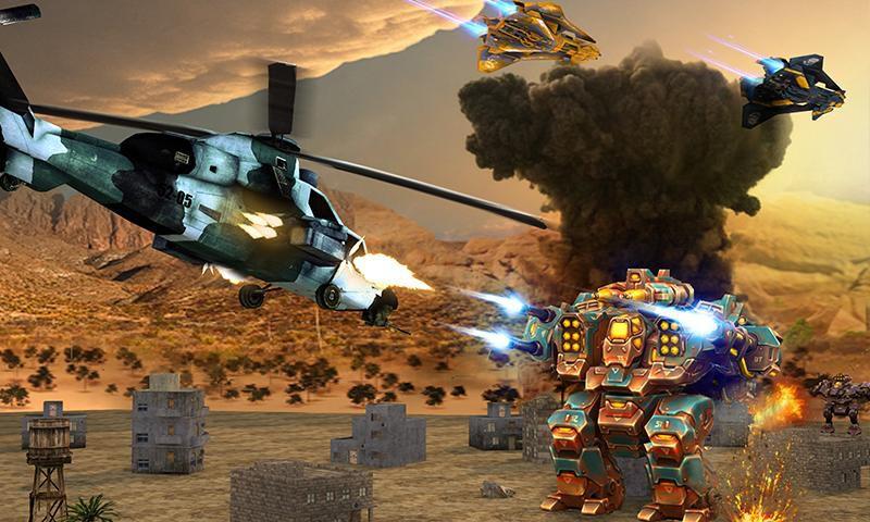直升机大战外星人游戏截图1