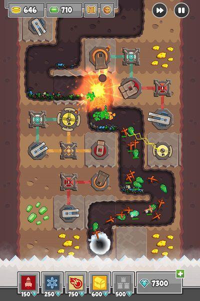 挖掘防卫者游戏截图2