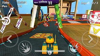 坦克竞速赛3D游戏截图1