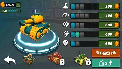 坦克竞速赛3D游戏截图2
