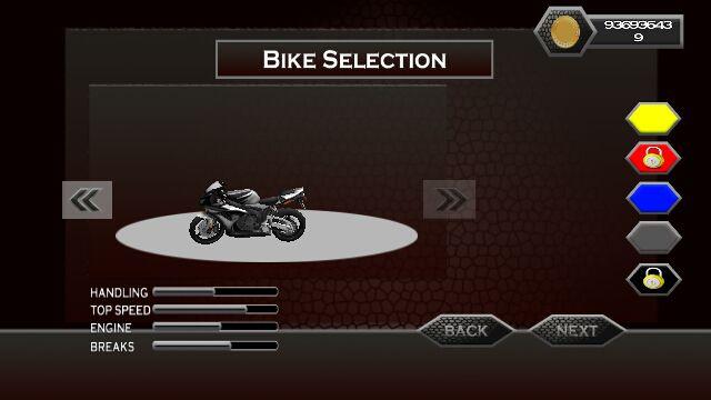 摩托车大奖赛游戏截图3