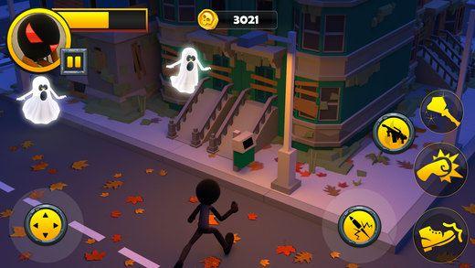火柴人逃离幽灵城镇游戏截图3