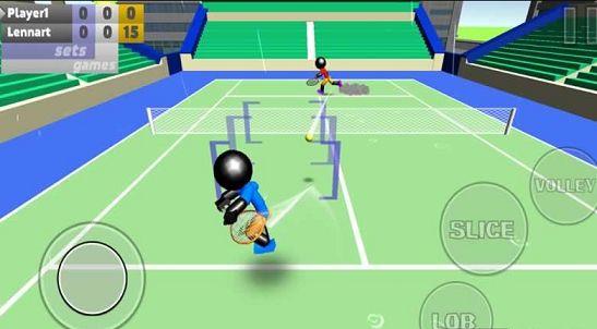 火柴人3D网球游戏截图3