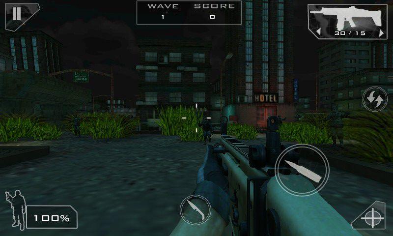 僵尸部队游戏截图1