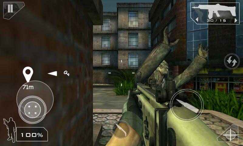 僵尸部队游戏截图2