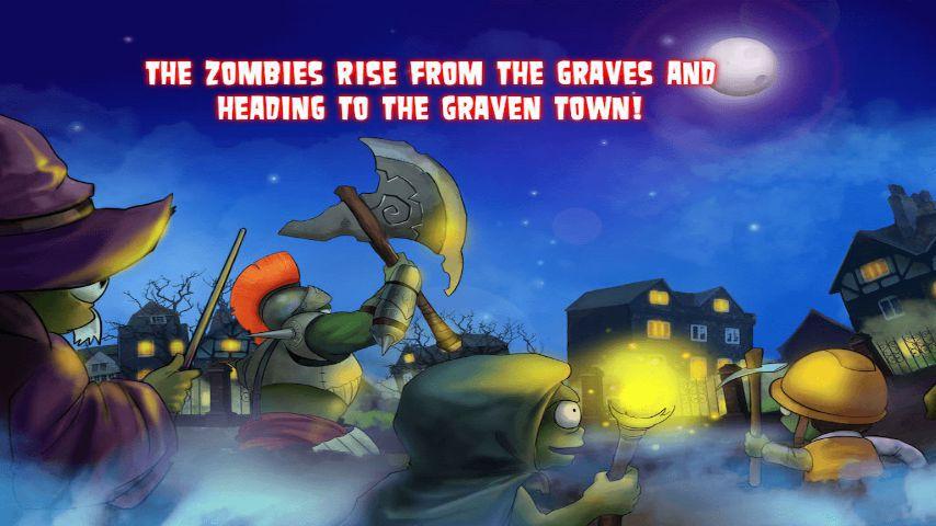 僵尸崛起游戏截图1