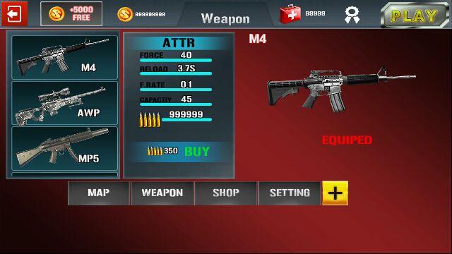真实反恐射击游戏截图3