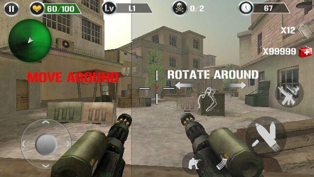真实反恐射击游戏截图1