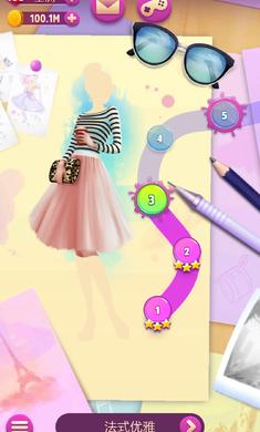 安吉拉时尚泡泡游戏截图1