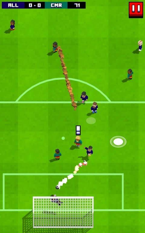 复古足球游戏截图2