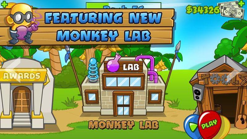 猴子塔防5游戏截图3