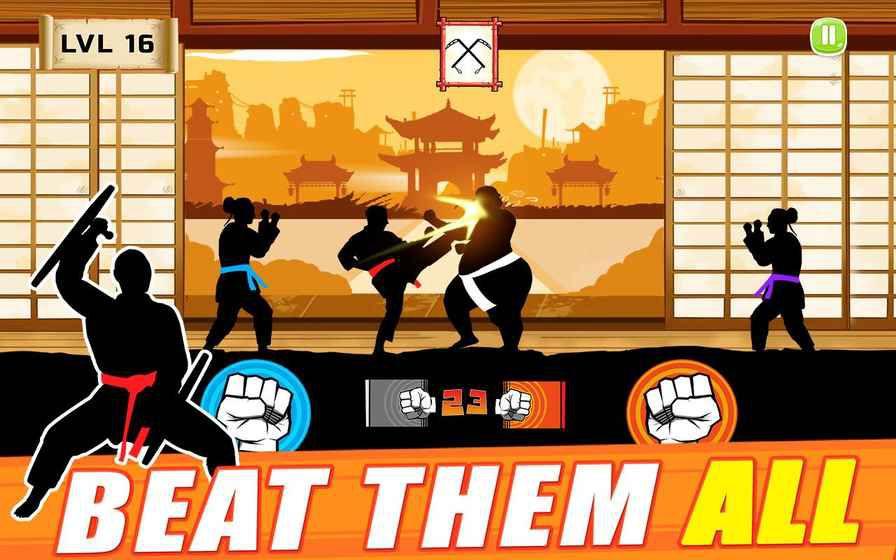 空手道格斗游戏截图3