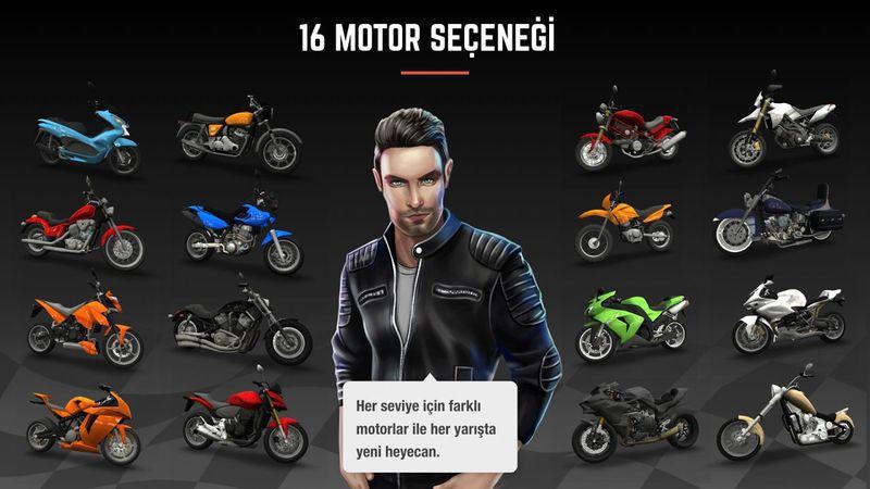 疯狂摩托车游戏截图1