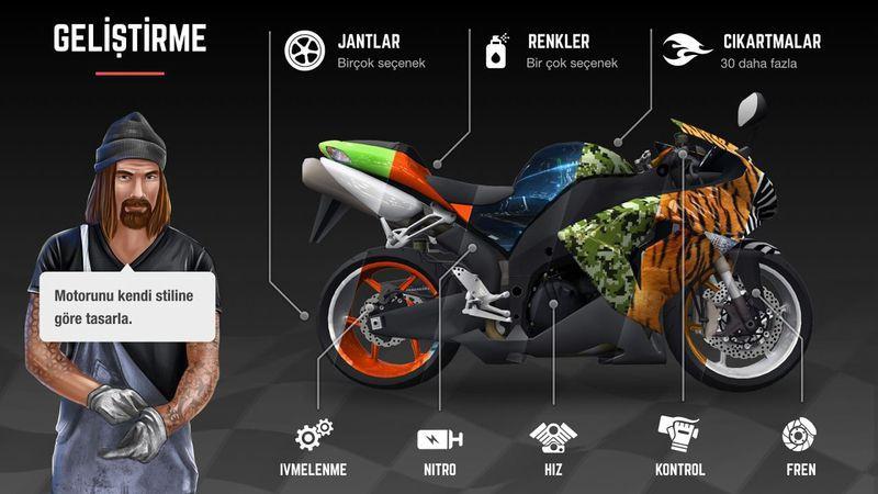 疯狂摩托车游戏截图2