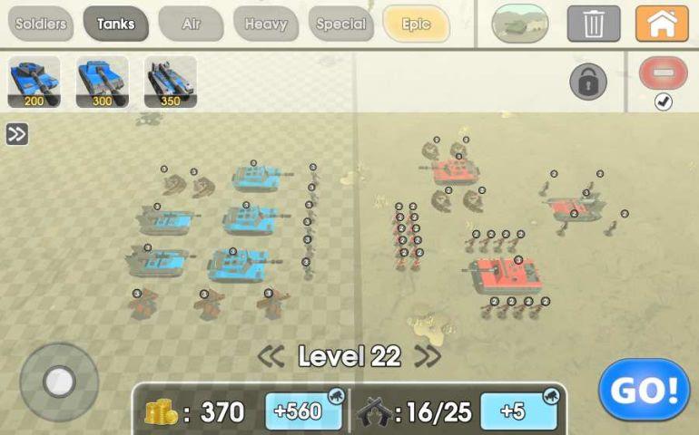 陆军战争模拟器游戏截图1