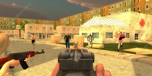 僵尸突击生存游戏截图2