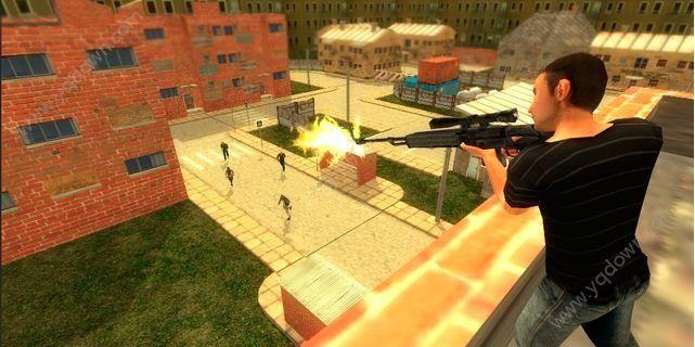 僵尸突击生存游戏截图1