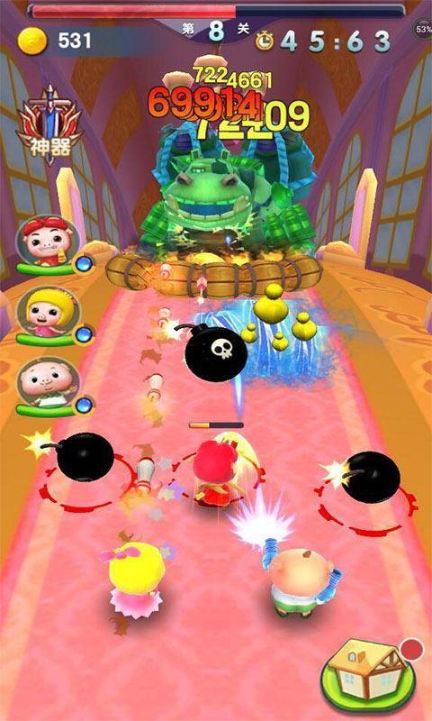 猪猪侠之超级小英雄游戏截图3