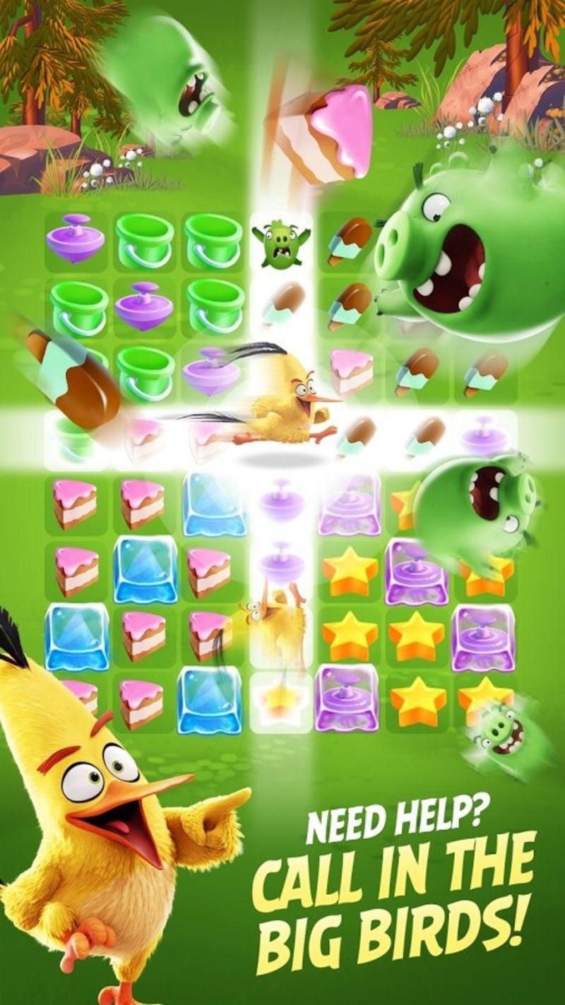 愤怒的小鸟消除赛游戏截图2