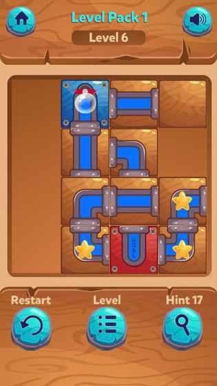 解锁的水流游戏截图2