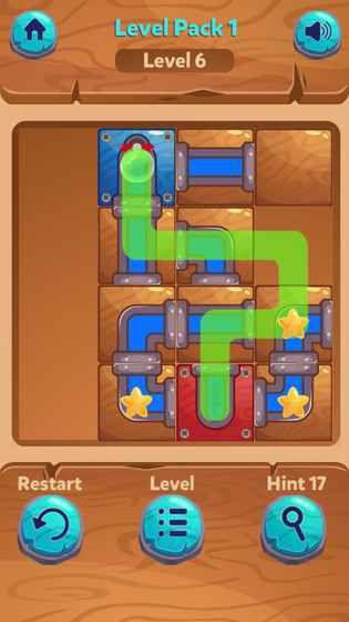 解锁的水流游戏截图1