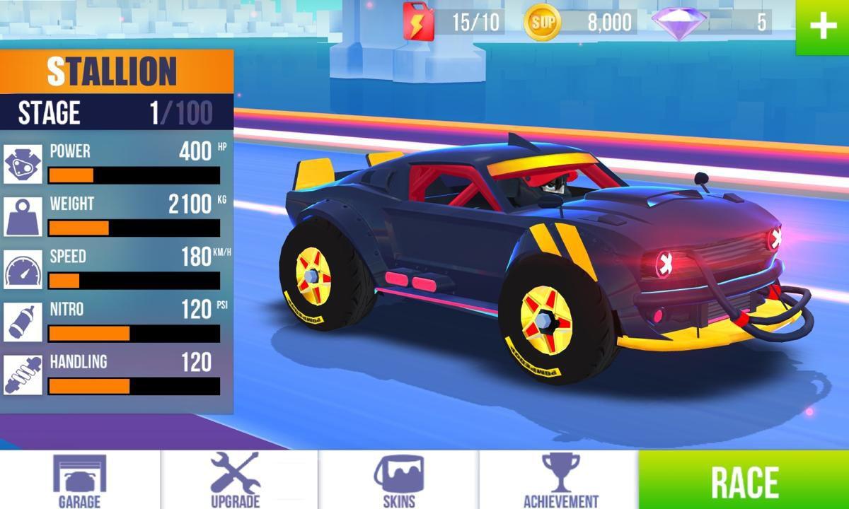 SUP竞速驾驶游戏截图3
