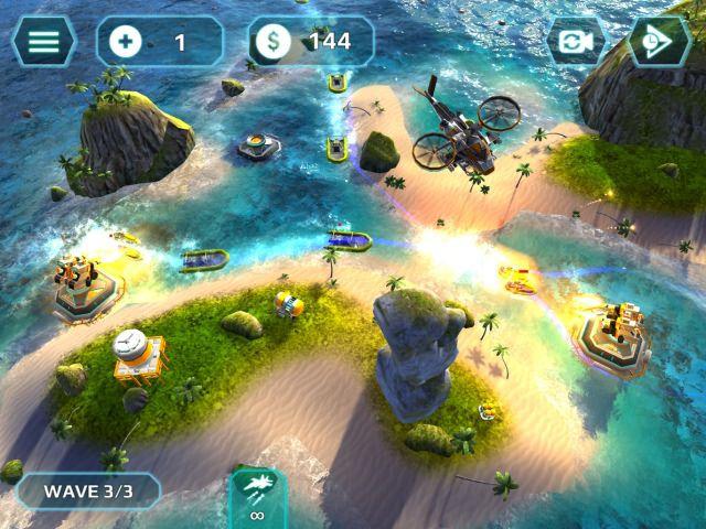海上风暴TD游戏截图1