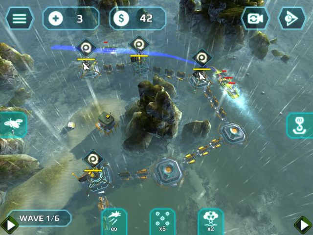海上风暴TD游戏截图3