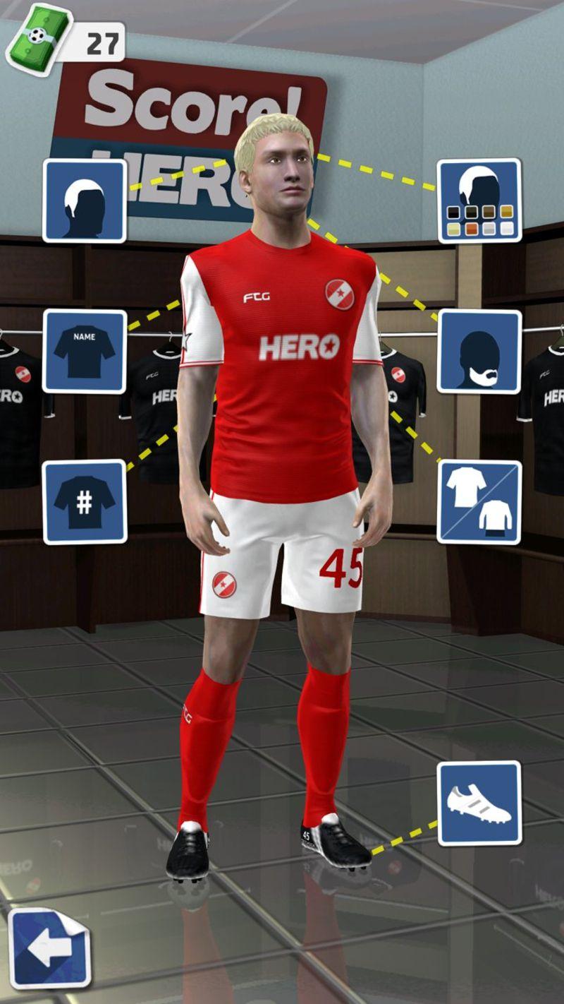 足球英雄游戏截图1