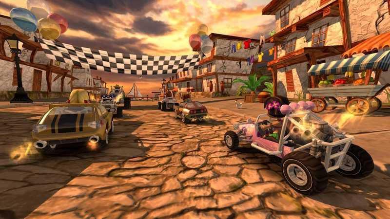 沙滩车竞 速游戏截图2