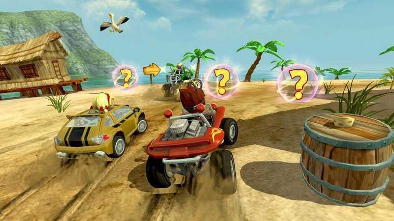 沙滩车竞 速游戏截图1