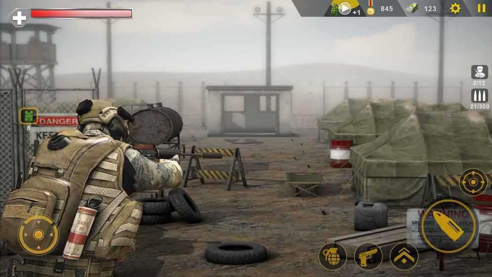 突击队狙击手:CS战争游戏截图3