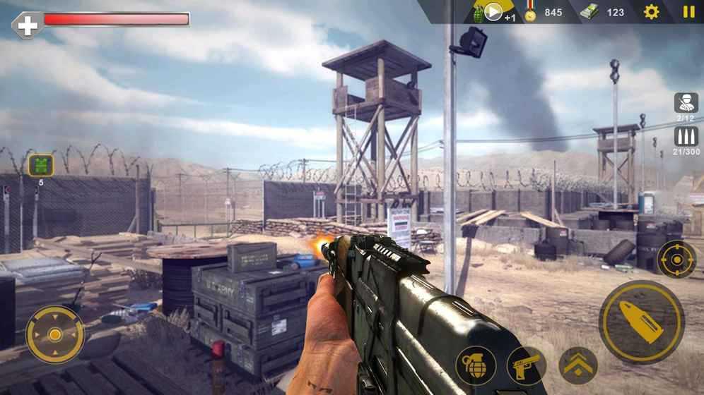 突击队狙击手:CS战争游戏截图1