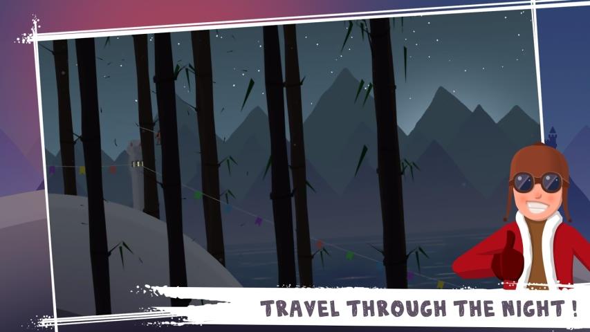 滑雪冒险游戏截图2