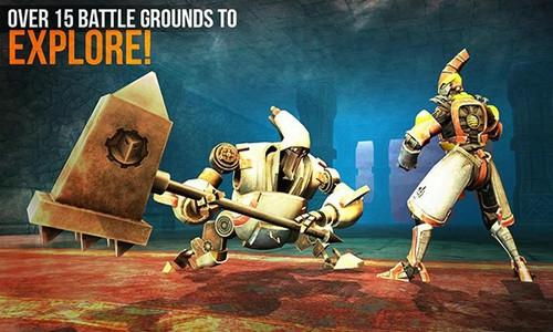 机器人冲突游戏截图3