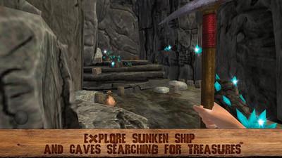 海盗岛生存3D游戏截图1