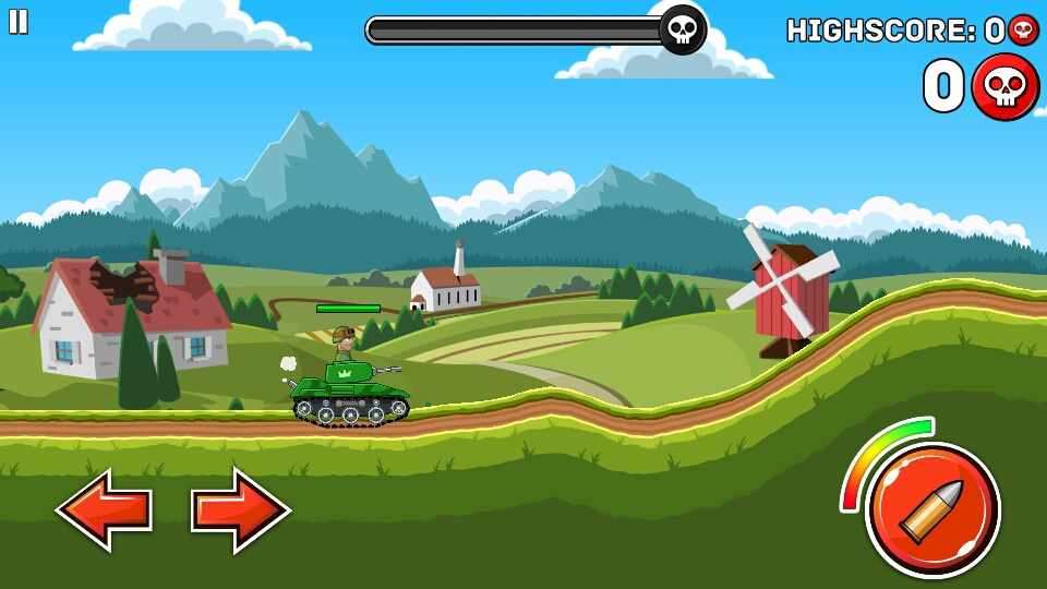 钢铁之丘游戏截图1