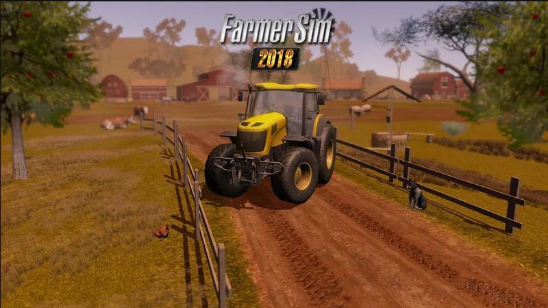 模拟农场2018游戏截图1