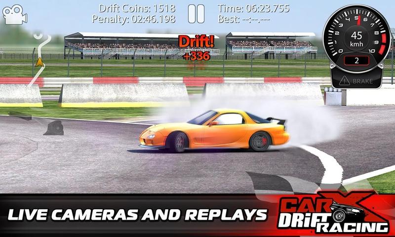 CarX漂移赛车游戏截图1
