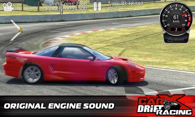CarX漂移赛车游戏截图2